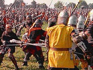 Guerreros medievales