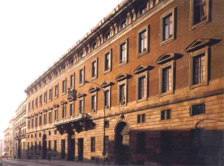 Real Casa de Aduanas, sede del Ministerio de Hacienda