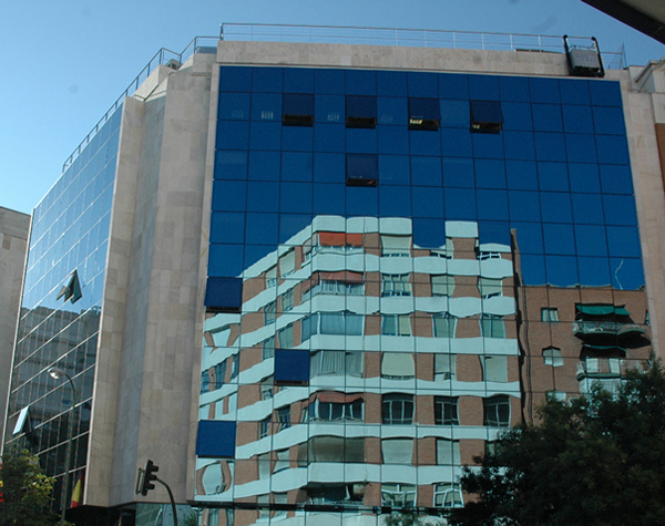 Edificio de la Dirección General de los Ferrocarriles