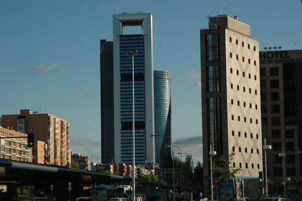 Torres del Paseo de la Castellana