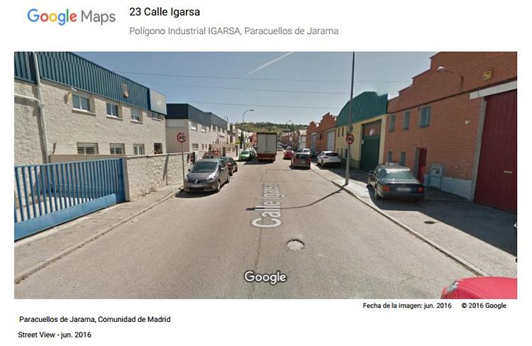 Polígono Industrial IGARSA, Paracuellos de Jarama