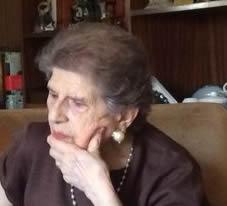 Rafaela Vega con 91 años